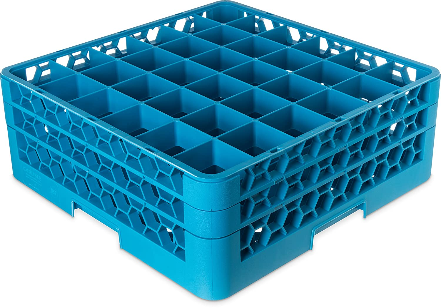 Carlisle RG36-214 OptiClean 36 Compartment Rack Max 57% OFF 2 with Baltimore Mall Glass Ext