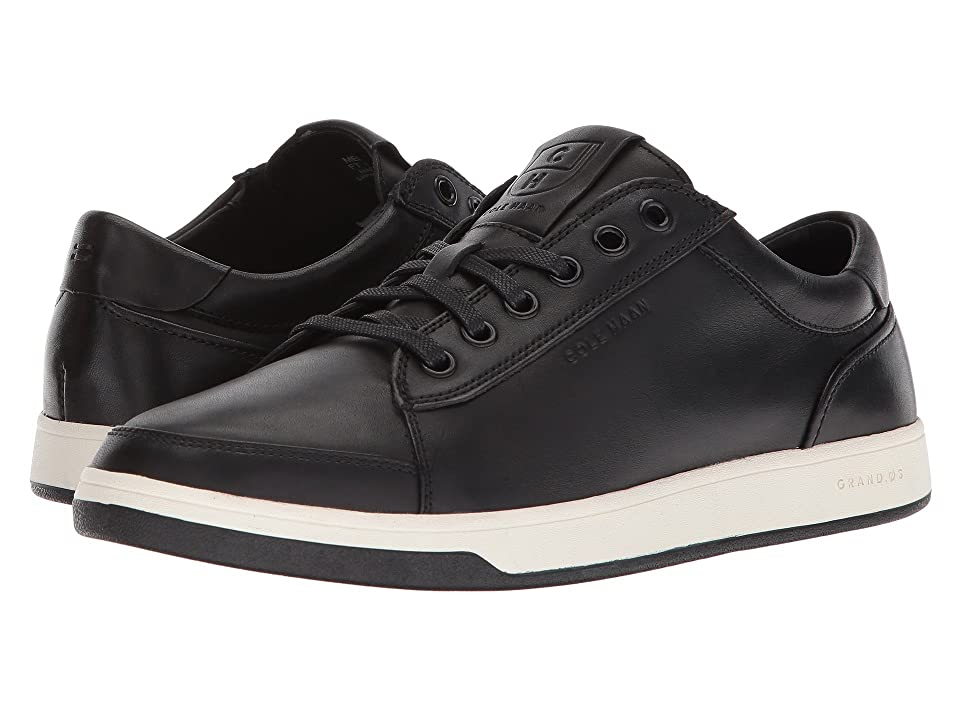 Cole Haan Grandpro Spectator Lace Ox (Black Handstain) Men