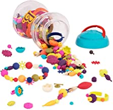 B Toys Pop Snap Bead Jewelry, 300, Multicolor