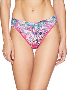 Pretty In Peony Original Rise Thong