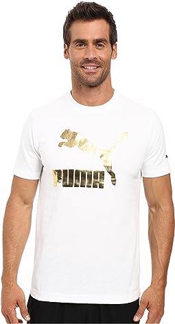Puma White/Gold Metallic