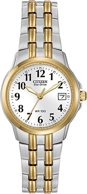 Citizen Women EW1544-53A Year-Round Analog Solar Powered Multicolour Watch
