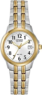 Citizen Watches EW1544-53A Eco-Drive Silhouette Sport Two-Tone Watch