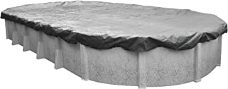Robelle 331833-4 Platinum Winter Pool Cover for Oval Above Ground Swimming Pools, 18 x 33-ft. Oval Pool