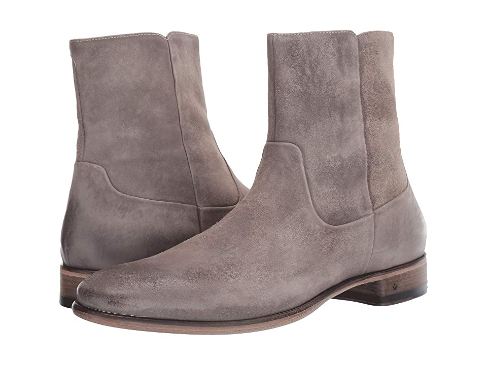 John Varvatos Collection Eldridge Zip Boot (Lead) Men