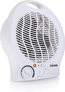 Tristar KA-5039 Calefactor con ventilador eléctrico y 3 funciones ajustables, Termostato regulable, 2000 W, Asa integrada,...