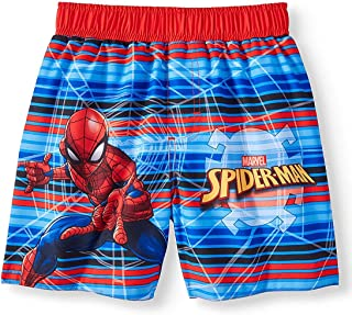 Spider-Man Toddler Boys Blue Red Combo Swim Short Trunk
