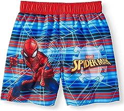 toddler spiderman swimwear