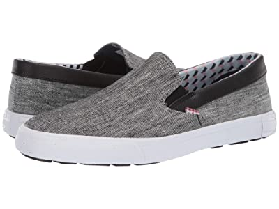 Ben Sherman Pete Slip-On (Black Chambray) Men