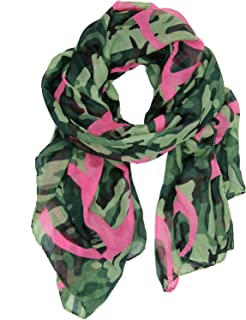Best pink camouflage scarf Reviews