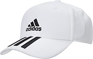 adidas Unisex's BBALL 3S CAP CT Hat, Legend Ink/White/White, OSFC