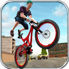 Beautiful 3d City Environment and Different Weather Conditions Extremely Interesting Cycling Objectives Amazing Bicycle Physics and Controls Chance to Show Some Real Stunts on City Roads Ramps, Mid Air Jumps, Fast Speed, Traffic, Brakes and Some Amaz...