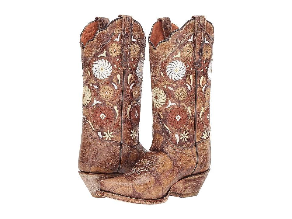 Dan Post Cheree (Tan) Cowboy Boots
