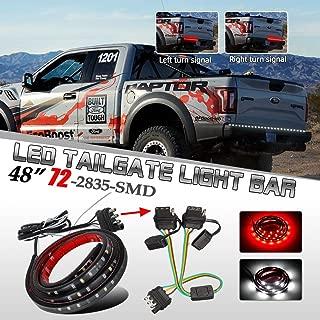 Partsam Flat 4 Pin Y-Splitter Adapter Trailer Harness + 48