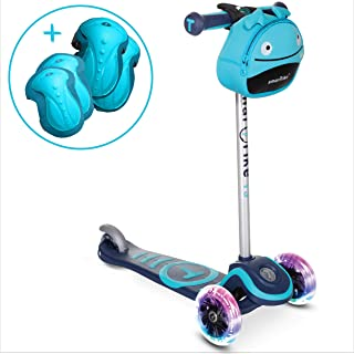 smarTrike T3 Scooter for Kids with Safety Gear