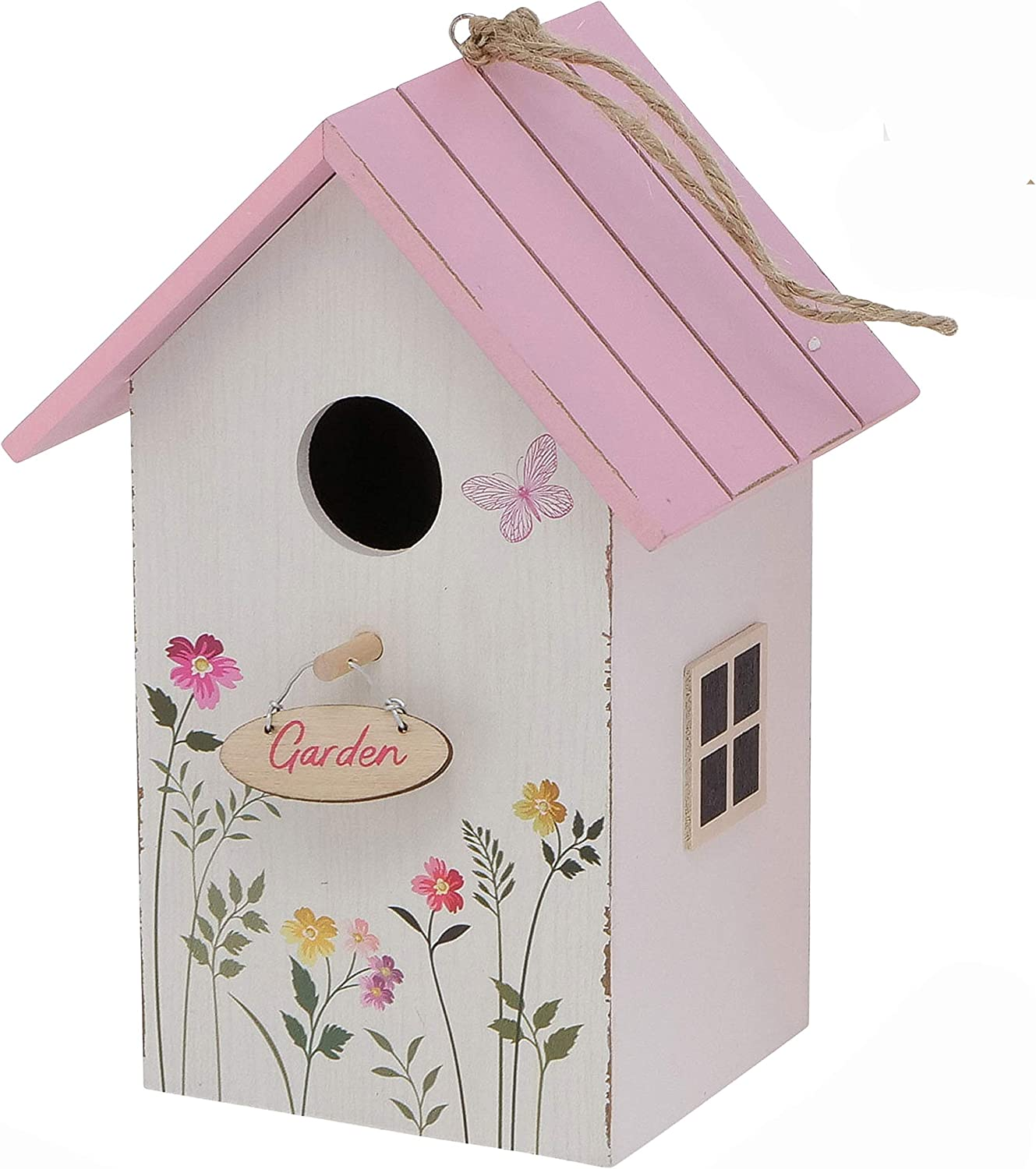 WHW Whole House Worlds Cozy Cottage Roof White Birdhouse P Ranking TOP3 with 5 ☆ very popular