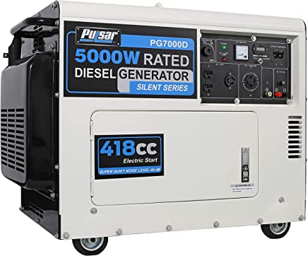 Amazon com: Diesel Outdoor Generators
