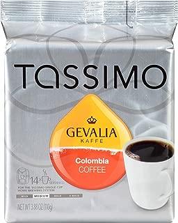 Tassimo Gevalia Colombian Medium Roast Coffee T Discs (14 Count)