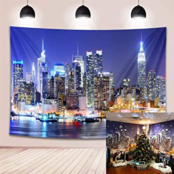 15x10ft Background City Landmark Building Backdrop Photography Studio Photo Props Murals LYFU370