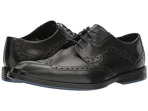 Clarks Prangley Limit 8816440 Black Leather shoes online hot sale