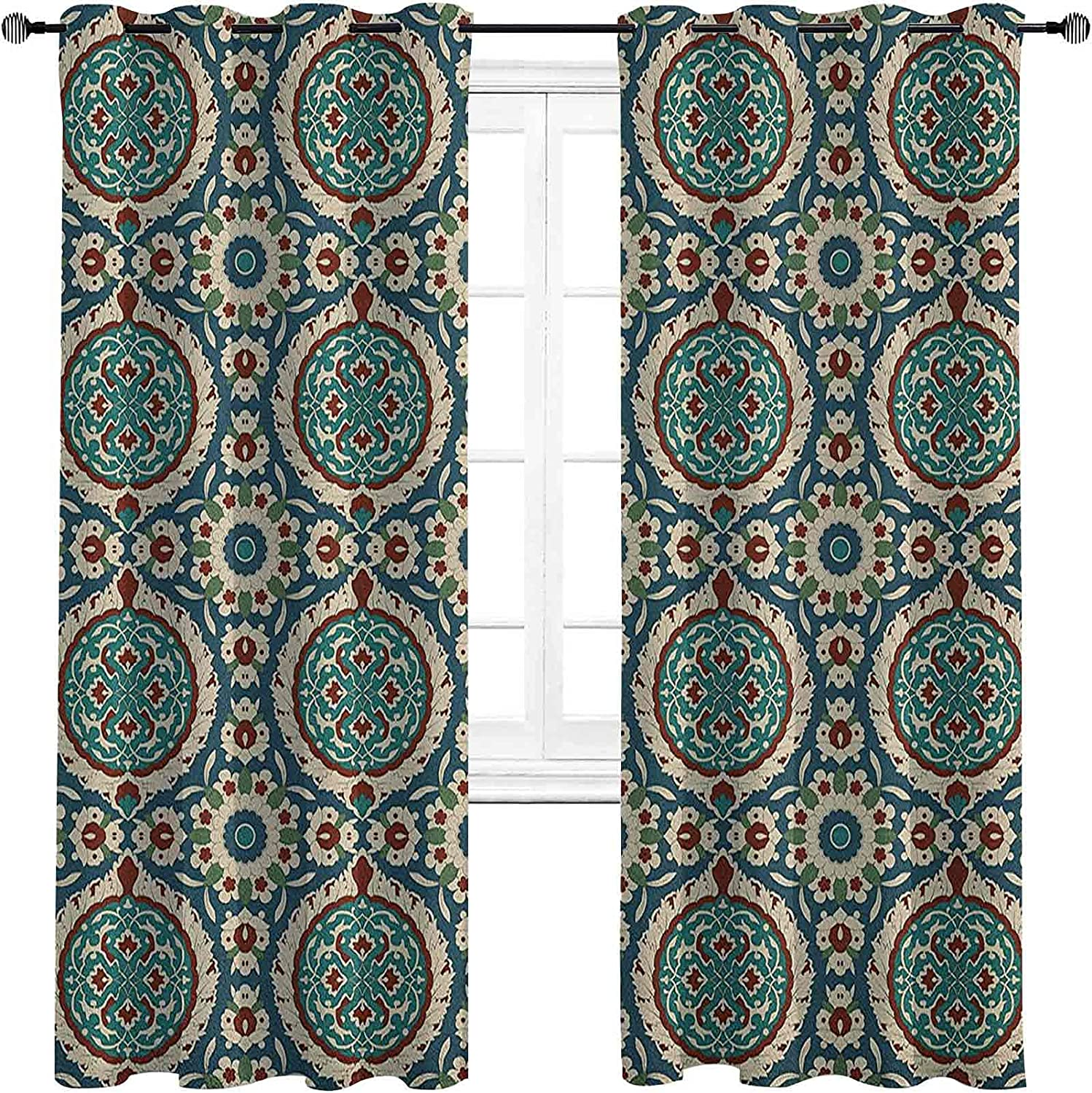 n 90%-99% Popular shop is the lowest price challenge Blackout Lining Curtain Classic Anc Design Graphic of Dallas Mall