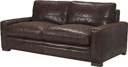 ACME Furniture Made in Italy Modena Sofa, Vintage Espresso Top Grain Leather