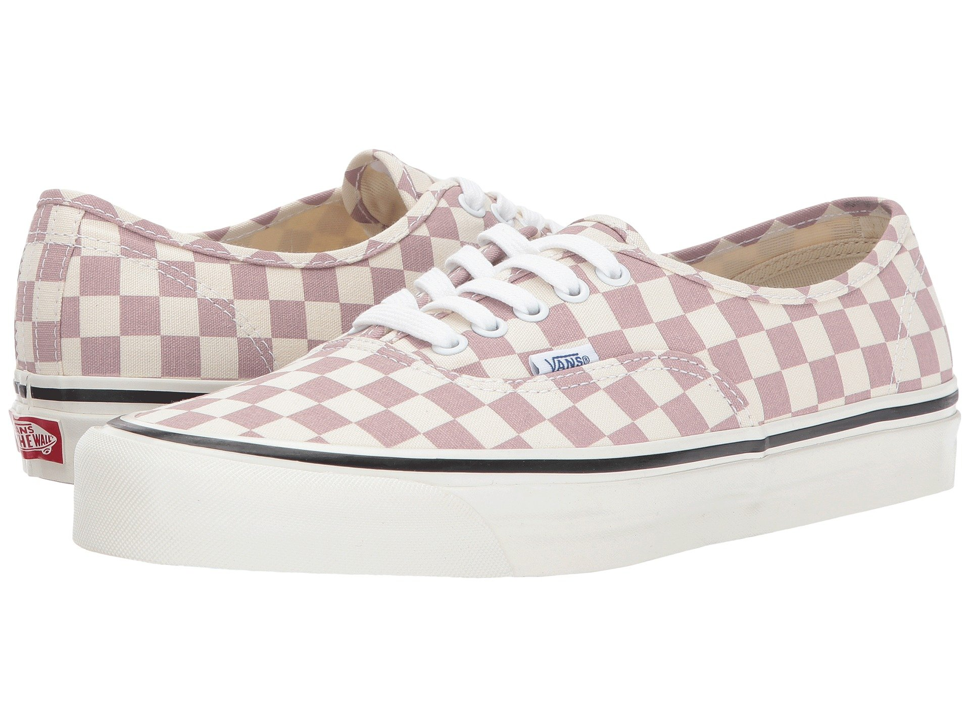 3b83adfc481f17 Vans Ua Anaheim Factory Authentic 44 Dx In Og Mauve Check ...
