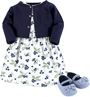 Girl Dress, Cardigan and Shoes