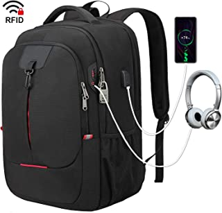 Laptop Backpack, College School Backpacks for 17.3 Inch Notebook