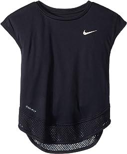 Dri-FIT(tm) Swoosh Twofer Short Sleeve Tunic (Little Kids)