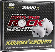 Zoom Karaoke Driving Rock Superhits