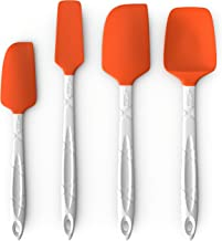 M KITCHEN WORLD Heat Resistant Silicone Spatulas Set – Rubber Spatula Kitchen..