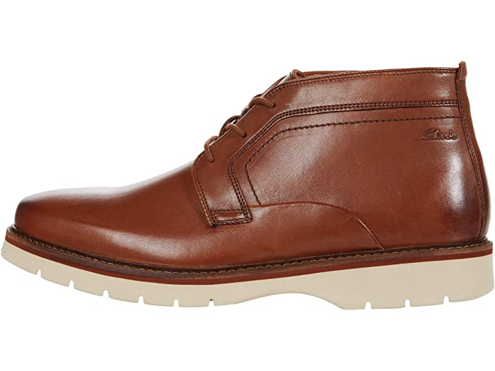 Mens Clarks Bayhill Mid Casual Ankle Boots
