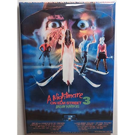 A Nightmare on Elm Street 7 FRIDGE MAGNET movie poster new nightmare