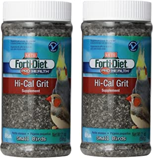 Kaytee Forti-Diet Pro Health Hi-Calcium Grit for Small Birds, 21-oz jar (42oz)