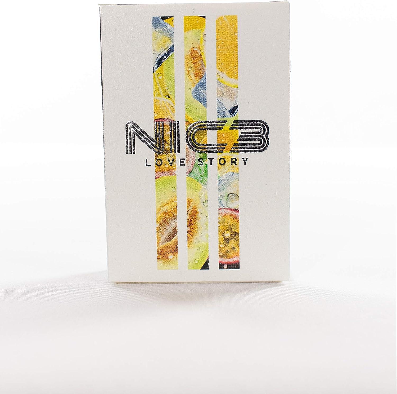 NIC3 50 g Aroma para shisha y ambiente - Cocktail Hookah Aromaticos para shisha (Love Story)