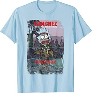 Adult Swim Rick & Morty First Rick Poster Camiseta