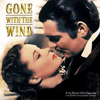 Gone With the Wind Wall Calendar (2016)