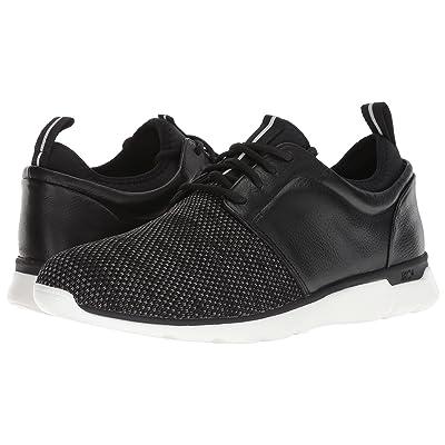 Johnston & Murphy Waterproof Prentiss XC4(R) Casual Dress Plain Toe Sneaker (Black Waterproof Full Grain/Knit) Men