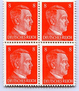 rare hitler stamps value
