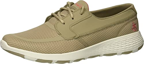 Skechers Perforhommece Wohommes on-the-GO Cool Boat chaussures,taupe rose,5.5 M US