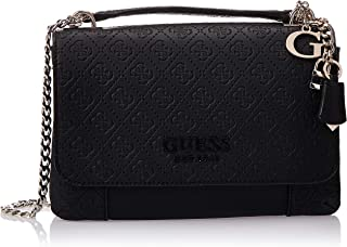 Guess Womens Cross-Body Handbag, Black - SG766921