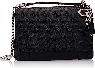 Guess Womens Cross-Body Handbag, Black - SG766921