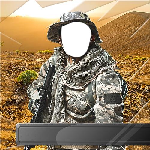 Militärische Fotomontage