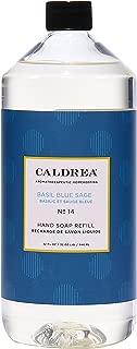 Caldrea Hand Soap Refill, Basil Blue Sage, 32 oz