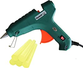 THEMISTO - built with passion 80W Hot melt Glue Gun with 5 Hot Melt Glue Sticks (Yellow Sticks)