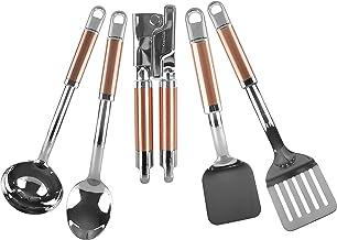 كيتشن ايد KT473MLCO مجموعة أدوات مطبخ 5 قطع، نحاس