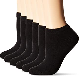Hanes Women's ComfortBlend Low-Show Socks (6-Pack)
