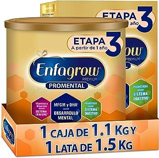 Enfagrow Etapa 3, Pack 2.6 kg Alimento a base de leche para niños a partir de 1 año