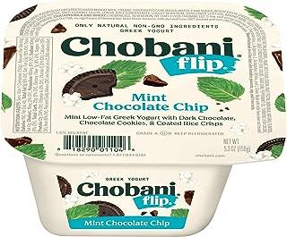 Chobani Flip 5.3 ounce (Pack of 12) (Mint Chocolate Chip)